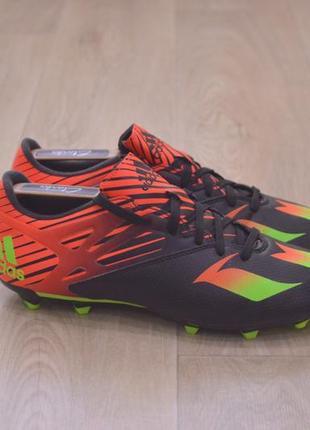 Мужские бутсы футбольные adidas messi оригинал обувь футбол