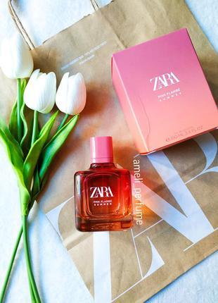 Zara pink flambé summer (edt 100 ml) (оригінальні парфуми, дух...