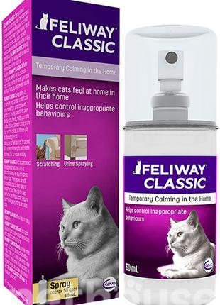 Feliway Феливей спрей для снятия стресса у кошек 60 мл