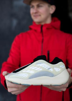 Замечательные мужские кроссовки adidas yeezy boost 700 v3 azae...