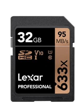 Карта памяти Lexar Professional  SDHC 32 GB Корея.