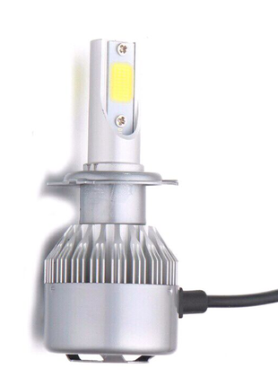 Автомобильные LED лампы S2 в фары цоколи H3, H7. Цена за пару