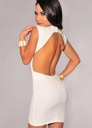 Платье с открытой спиной, miso