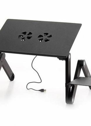 Подставка для ноутбука Laptop Table T8 (Столик трансформер)