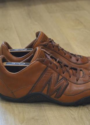 Merrell мужские кожаные кроссовки оригинал осень весна sale!