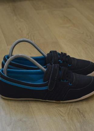 Adidas женские балетки лоферы кроссовки оригинал джинсовые лет...