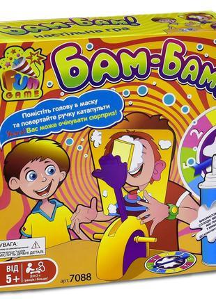 """Настольная развлекательная игра 7088 """"Бам-Бам"""" в коробке """"FUN GAM"""
