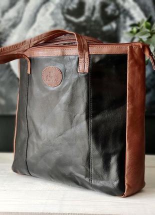 Rowallan. большая сумка из натуральной кожи.