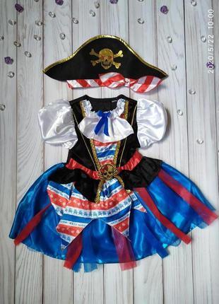 Платье пиратка 2-3, 3-5, 5-6 лет
