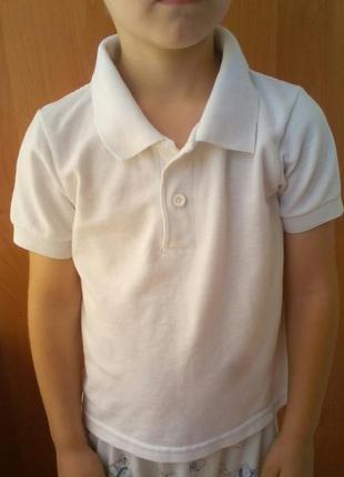 Детская футболка поло на 4-5 лет