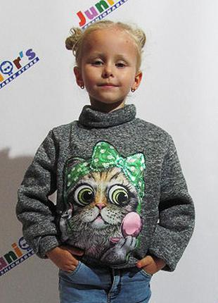 Детская кофта осень-зима