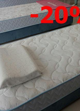Матрас Sleep&Fly Standart Plus-20%. Повышенная прочность.
