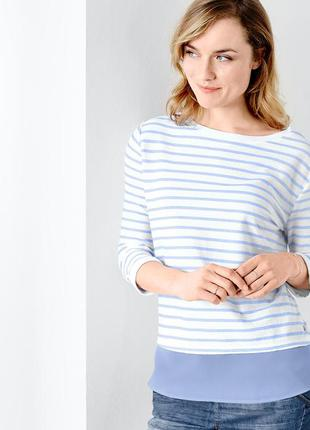 Красивая кофточка имитация блузы от tchibo р.48 - 50 евро. наш...