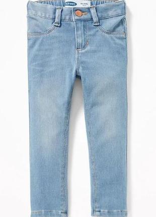 Стильные джинсы-скинни для девочки