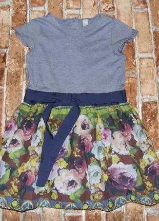 Нарядное платье девочке 10 лет TU
