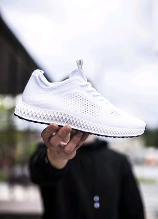Мужские кроссовки КМБ Брайан белые