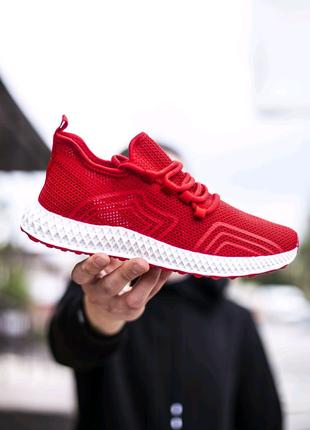 Мужские кроссовки КМБ Арч красные