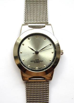 Fada industries inc. часы из сша мех japan miyota золоченая wr30m