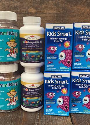 омега 3 та мультивітаміни для дітей