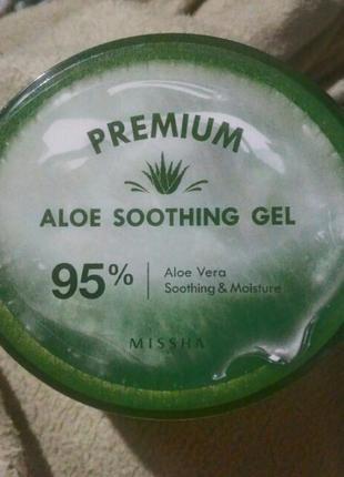 Увлажняющий гель с алоэ missha premium aloe soothing gel