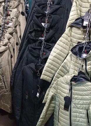 Куртка жіноча демисезонна 44 - 64