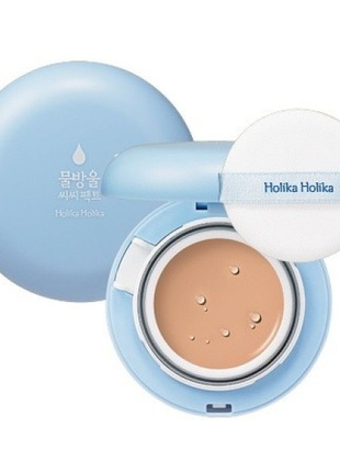 Кушон сс-крем holika holika water drop cc pact cushion spf50 +
