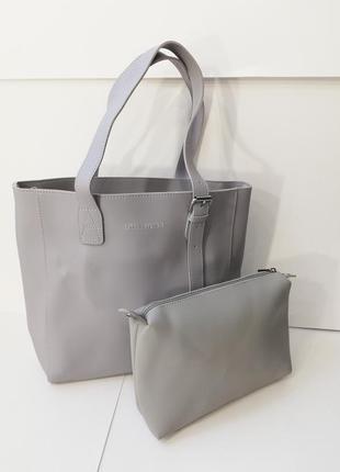 Стильный набор сумка + косметичка