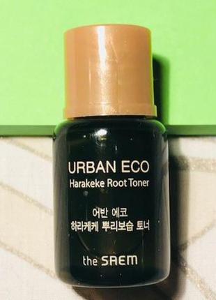 Глубоко увлажняющий тонер the saem urban eco harakeke root ton...