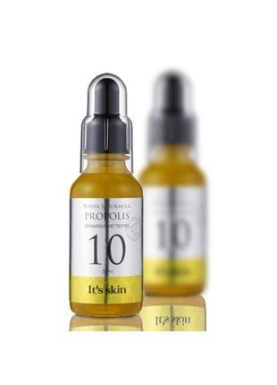 Сыворотка ночная с прополисом it's skin power 10 formula propo...