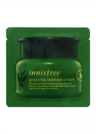 Крем для кожи вокруг глаз с экстрактом зеленого чая innisfree ...