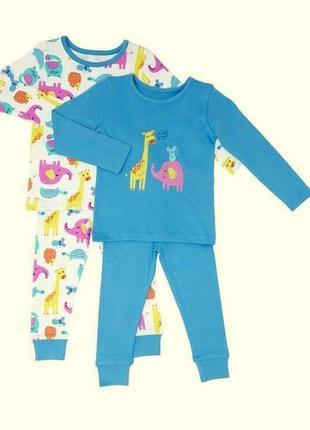Классный набор пижамок на девочку от dunnes stores на 18-23мес