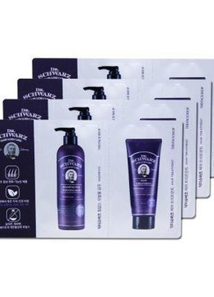 Шампунь и маска для истонченных волос dr.schwarz shampoo for t...