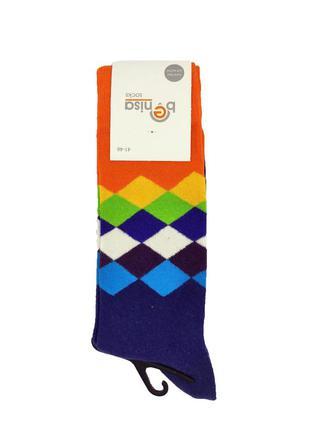 Мужские высокие носки с принтом