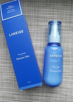 Laneige water bank moisture mist 70 ml, увлажняющая эссенция-м...