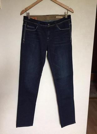 Темные джинсы molita slim straight с низкой талией