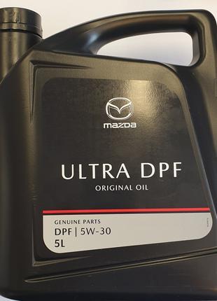 Масло моторное оригинальное Mazda Original Oil Ultra DPF 5w-30