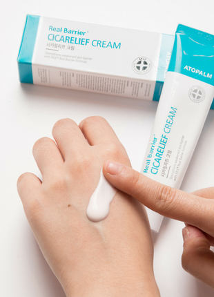 Sos-средство для восстановления кожи real barrier cicarelif cr...