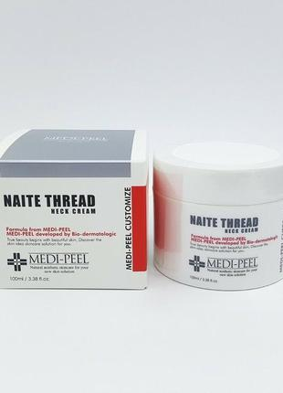 Культовый крем для шеи medi peel naite thread neck cream