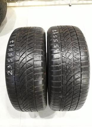 Зимние шины бу 235/55r17 Hankook Optima 4S