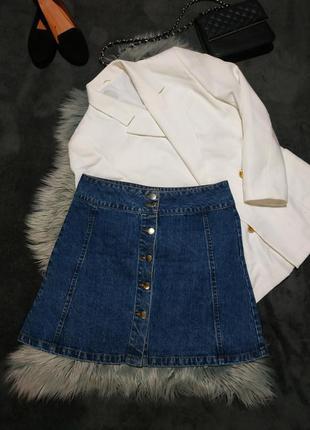 Стильная джинсовая юбка 💙 bikbok 💙