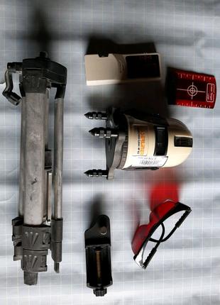 лазерный нивелир Laserliner autocross 4P Rx с приёмником