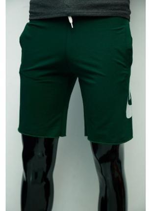 Шорты мужские трикотажные nike  зеленые