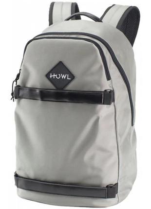 Рюкзак howl session backpack grey  серый