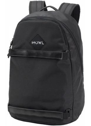 Рюкзак howl session backpack grey черный