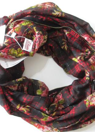 Снуд хомут шарф двойная петля s.oliver оригинал европа германия