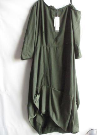 Платье макси длинное премиум бренда rinascimento оригинал евро...