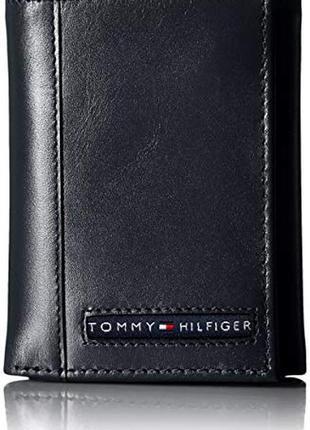 Кожаный кошелек tommy hilfiger оригинал портмоне томми хилфиге...