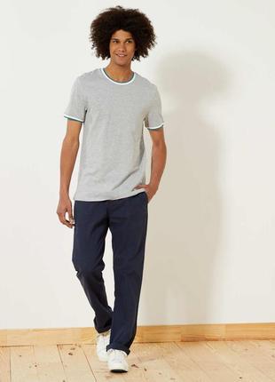 Мужские подростковые брюки для повседневной носки от kiabi, ор...
