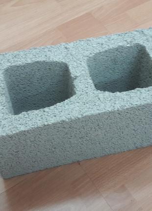 Шлакоблок 190х190х390, щебневый блок. Гарантия качества.