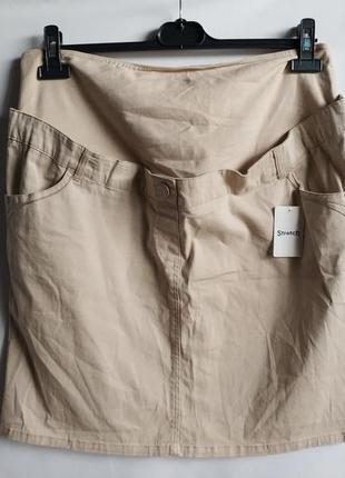 Джинсовая юбка для беременных от kiabi, оригинал франция европ...